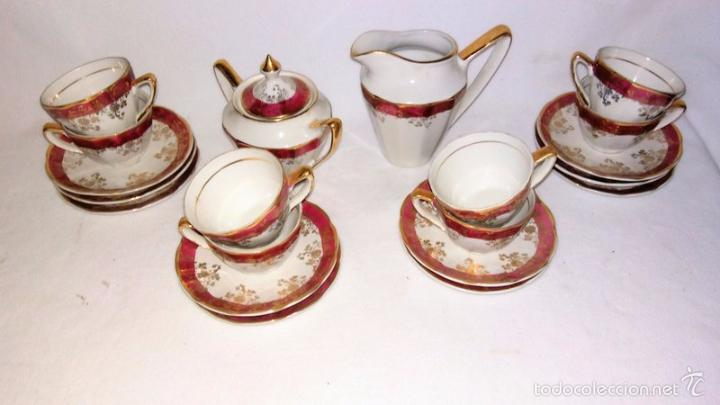 Antigüedades: Juego de café 8 piezas - Foto 5 - 36958465