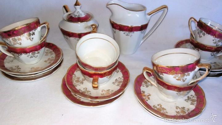 Antigüedades: Juego de café 8 piezas - Foto 6 - 36958465
