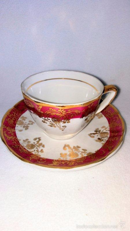 Antigüedades: Juego de café 8 piezas - Foto 7 - 36958465