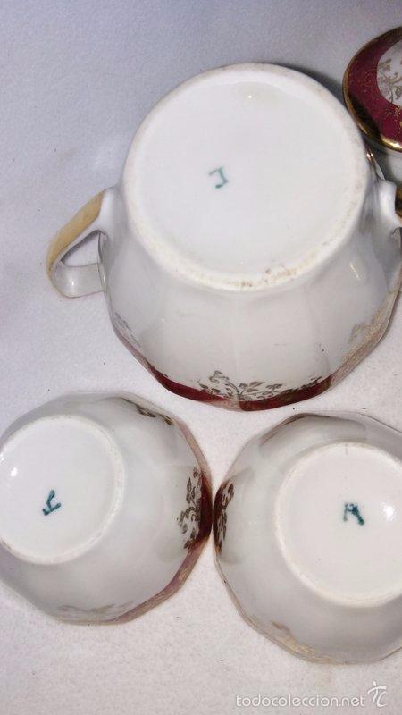 Antigüedades: Juego de café 8 piezas - Foto 8 - 36958465