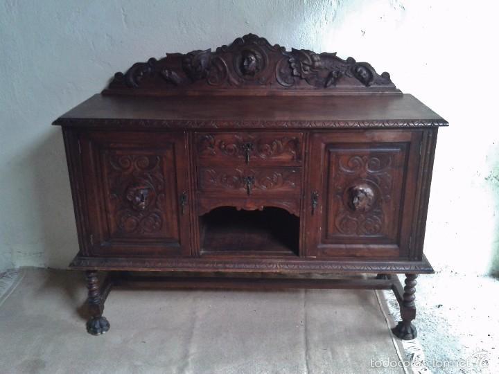 Aparador antiguo estilo renacimiento aparador comprar - Mueble aparador antiguo ...