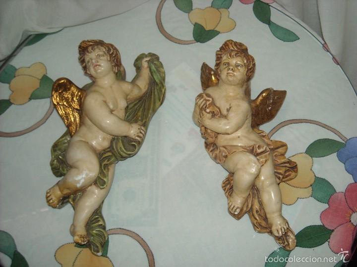 DOS ANGELES (Antigüedades - Religiosas - Varios)