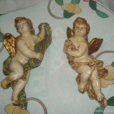Antigüedades: DOS ANGELES. Lote 99662666