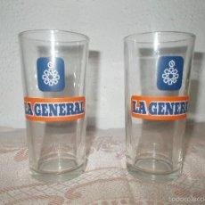 Antiquités: PAREJA DE VASOS DE LA GENERAL. Lote 61094343