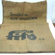 Antigüedades: SACO COSTAL SEMILLAS FITO. Lote 128663670
