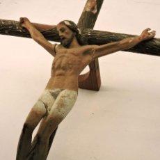 Antigüedades: CRISTO ARTE CRISTIANO DE OLOT.. Lote 61119611