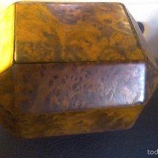 Antigüedades: CAJA EN MADERA DE RAIZ. Lote 61134667