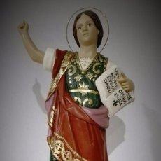 Antigüedades: FIGURA DE SAN PANCRACIO DE OLOT. Lote 61161779