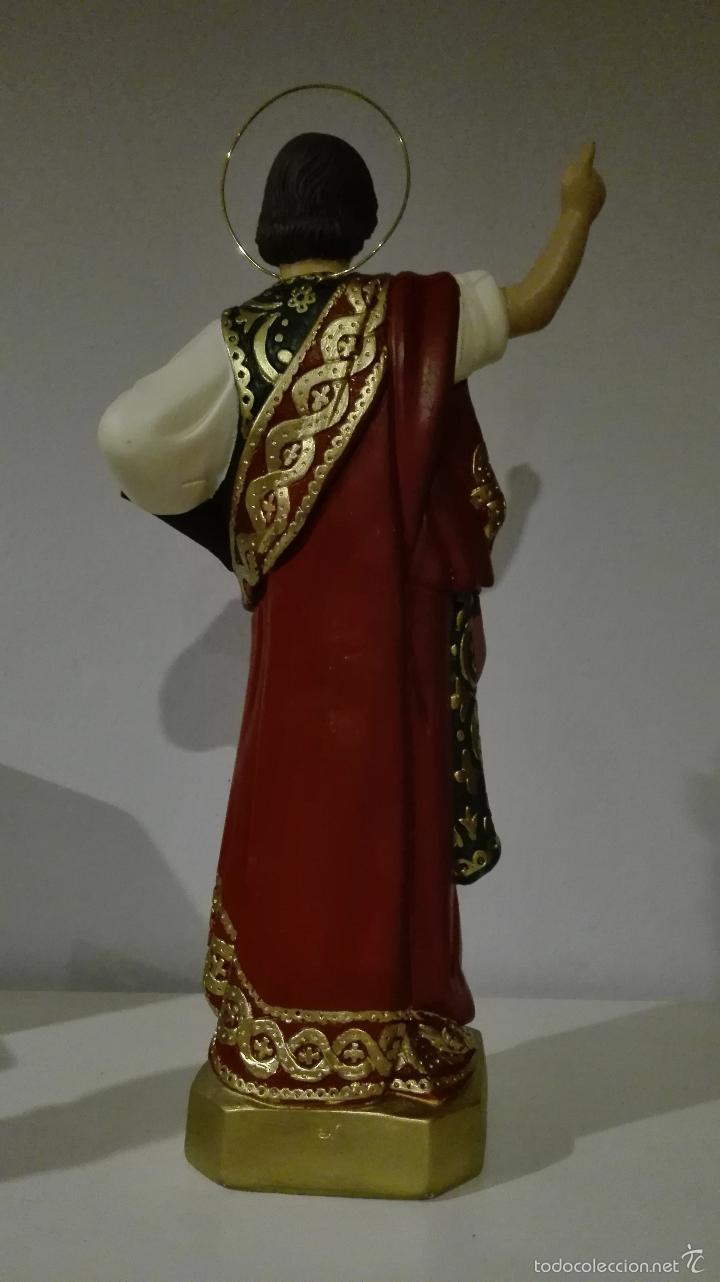 Antigüedades: Figura de san pancracio de olot - Foto 2 - 61161779