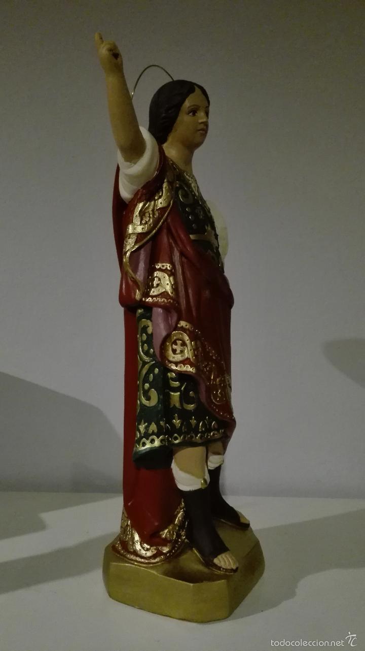 Antigüedades: Figura de san pancracio de olot - Foto 3 - 61161779