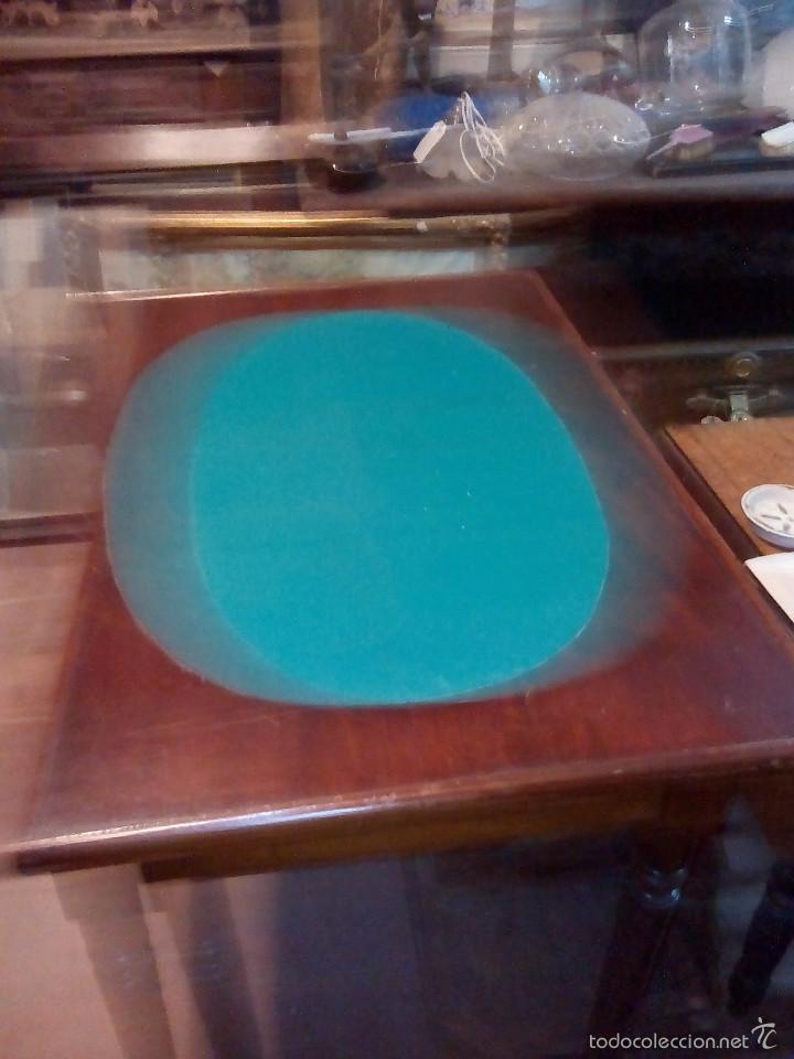 Antigüedades: Mesa de juego rectangular - Foto 2 - 61174491