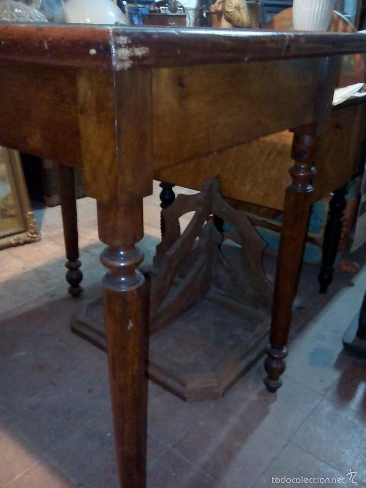 Antigüedades: Mesa de juego rectangular - Foto 3 - 61174491