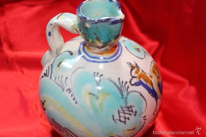 JARRA CERAMICA TRIANA S.XIX (Antigüedades - Porcelanas y Cerámicas - Triana)