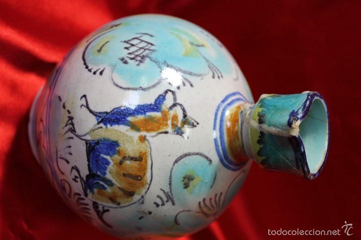 Antigüedades: JARRA CERAMICA TRIANA S.XIX - Foto 2 - 61179235