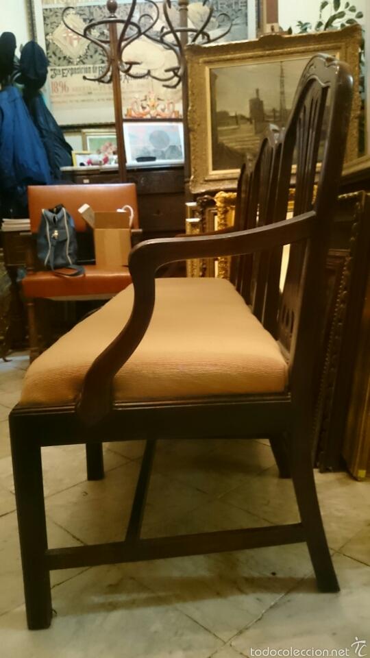 Antigüedades: Sofa tresillo estilo modernista - Foto 2 - 61314774