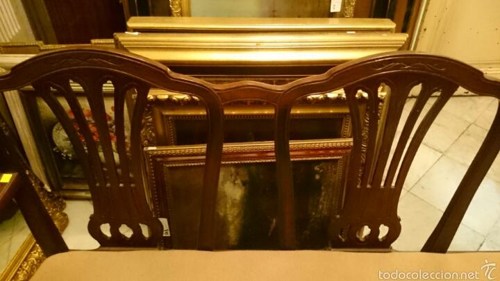 Antigüedades: Sofa tresillo estilo modernista - Foto 3 - 61314774