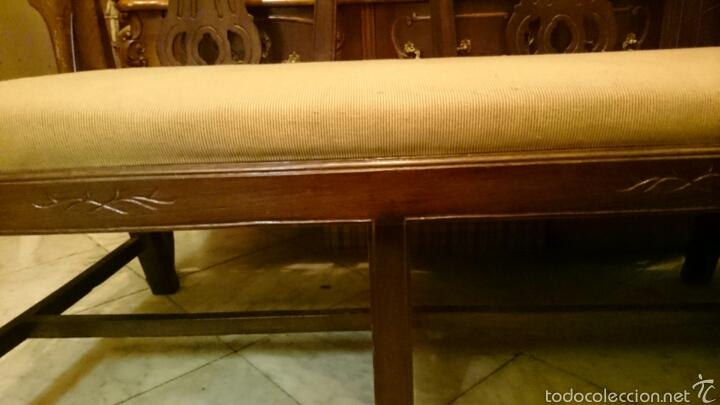 Antigüedades: Sofa tresillo estilo modernista - Foto 5 - 61314774