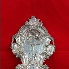 Antigüedades: PRECIOSA PILA BENDITERA DE PLATA SIGLO XIX. Lote 61346523
