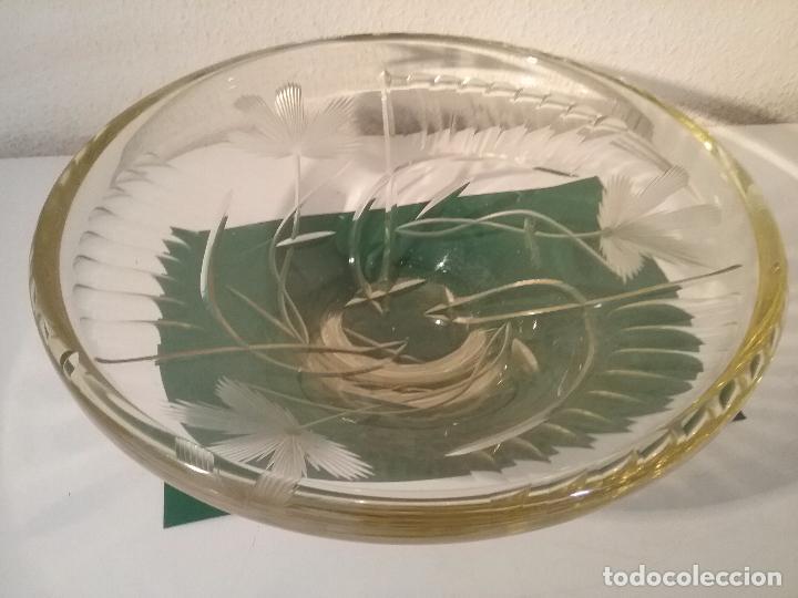 FUENTE CRISTAL CHECO (Antigüedades - Cristal y Vidrio - Bohemia)