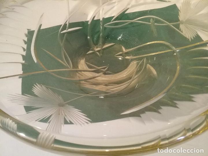 Antigüedades: FUENTE CRISTAL CHECO - Foto 2 - 61390715