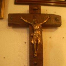 Antigüedades: CRISTO CON CRUZ S XIX. Lote 61396419