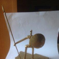 Antigüedades: ESCULTURA DE HIERRO, ESPAÑA SIN CABEZA. Lote 61406433