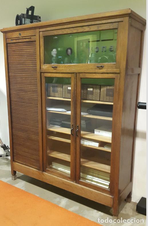 Armario de roble americano del 1935 comprar armarios - Armarios antiguos ...