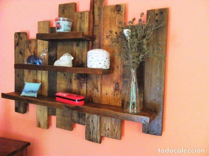 Dormitorio Matrimonio Rustico Segunda Mano : Estanterias rusticas segunda mano flotante de madera