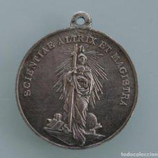 Antigüedades: ANTIGUA MEDALLA COLEGIO SAN ESTANISLAO DE KOSTKA MALAGA SCIENTIAE ALTRIX ET MAGISTRA . Lote 61575248
