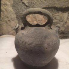 Antigüedades: ANTIGUO PEQUEÑO BOTIJO / CANTI DE VERDÚ DE CERAMICA DE LOS AÑOS 20-30 . Lote 61611616
