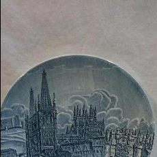 Antigüedades: PLATO DECORATIVO CATEDRAL DE BURGOS . Lote 61627920