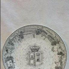 Antigüedades: PLATO DECORATIVO DE BURGOS TIERRAS DE CID. Lote 61628940