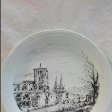 Antigüedades: PLATO DECORATIVO SAN ESTEBAN, BURGOS. Lote 61629332