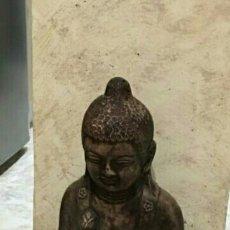 Antigüedades: FIGURA BUDA EN PIEDRA . Lote 61632184