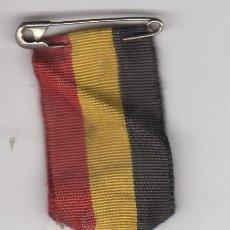 Antigüedades: CRUZ ESMALTADA PEREGRINACION NACIONAL DE BRUSELAS - PELEGRINAGE NATIONAL DE BRUXELLES - AVE GRATIA . Lote 61633320
