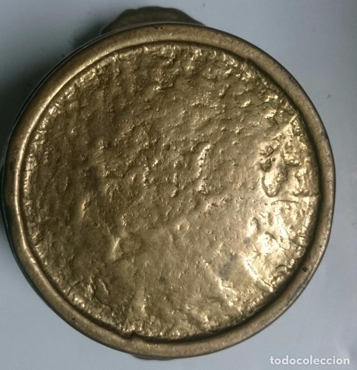 Antigüedades: VACIJA BRONCE MACIZO - Foto 2 - 61641132