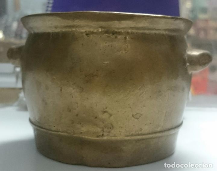 Antigüedades: VACIJA BRONCE MACIZO - Foto 4 - 61641132