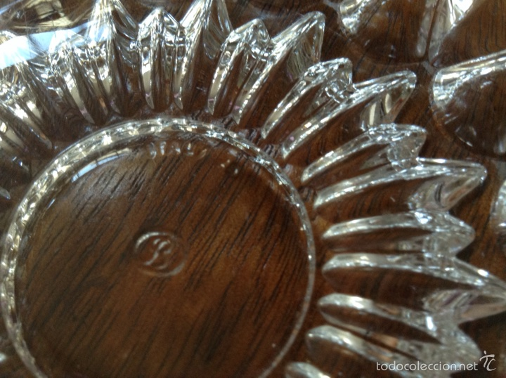 Antigüedades: Cenicero antiguo en vidrio Italia - Foto 3 - 61650312