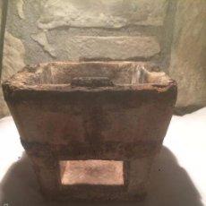 Antigüedades: ANTIGUO FOGÓN / FOGONCILLO DE CERAMICA DE LOS AÑOS 20-30 DE CARBÓN . Lote 61674812
