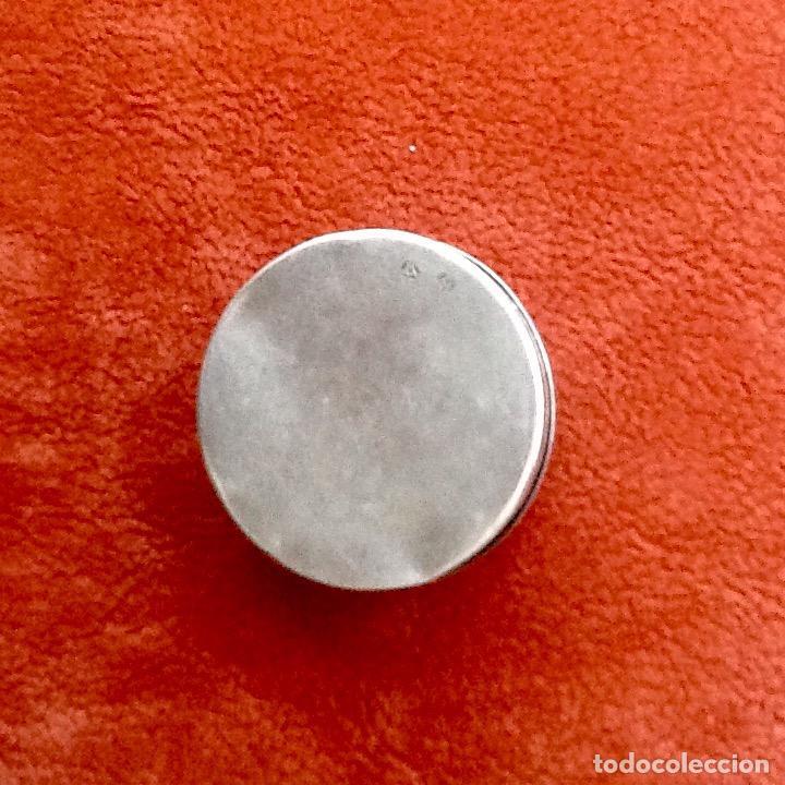 Antigüedades: PASTILLERO CON INICIALES. PLATA CON PUNZONES. ENVIO INCLUIDO. - Foto 2 - 61722264