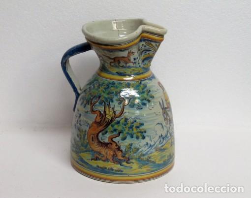 JARRA VINATERA DE TALAVERA (Antigüedades - Porcelanas y Cerámicas - Talavera)