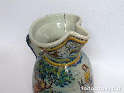 Antigüedades: Jarra vinatera de Talavera - Foto 2 - 61754644