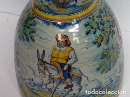 Antigüedades: Jarra vinatera de Talavera - Foto 3 - 61754644