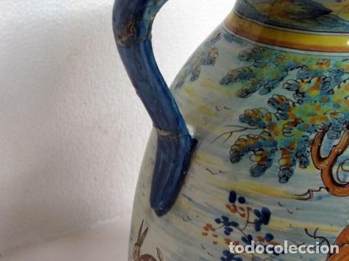 Antigüedades: Jarra vinatera de Talavera - Foto 4 - 61754644
