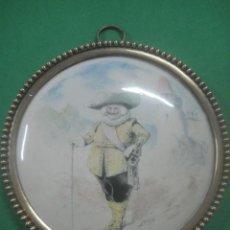 Antigüedades: PLACA DE PORCELANA DE LIMOGES PINTADA POR LOUIS PIERRE GABRIEL MOREL-RETZ (1825-1899) CON FIRMA STOP. Lote 61823412