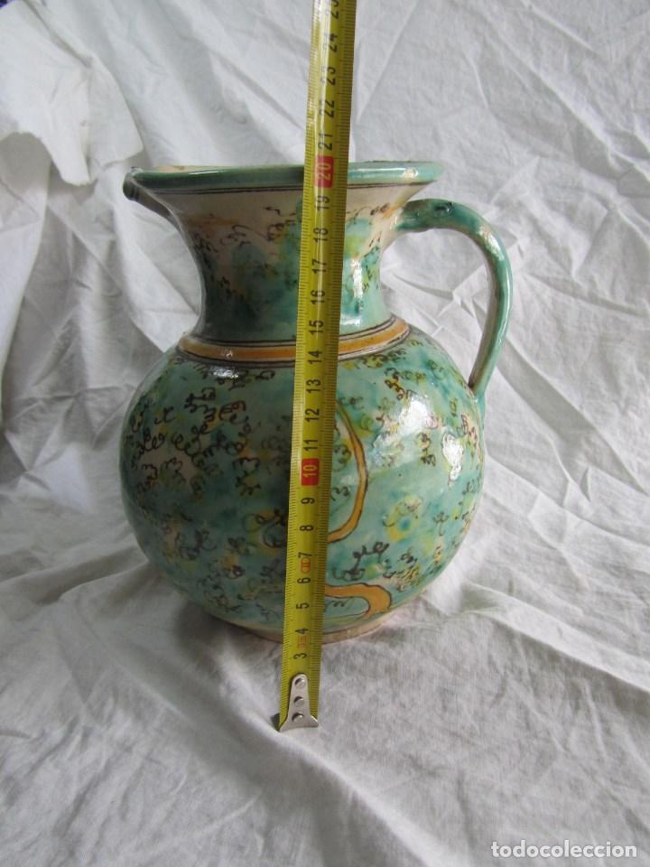 Antigüedades: Jarra de cerámica de Puente del Arzobispo Toledo Santa Fe - Foto 2 - 61848000