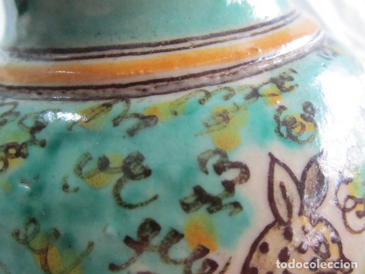 Antigüedades: Jarra de cerámica de Puente del Arzobispo Toledo Santa Fe - Foto 11 - 61848000