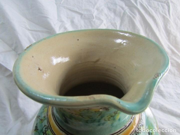 Antigüedades: Jarra de cerámica de Puente del Arzobispo Toledo Santa Fe - Foto 12 - 61848000