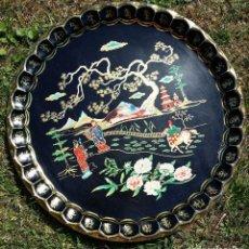 Antigüedades - BANDEJA DE METAL INGLESA - 61865492