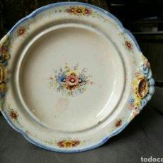 Antigüedades: LOZA DECORADA MUY ANTIGUA PEYRO. Lote 61869976